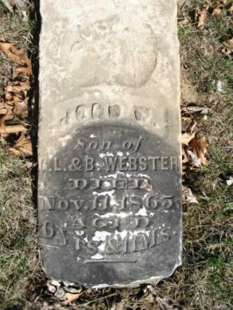 WEBSTER, JOHN W. - Van Buren County, Iowa | JOHN W. WEBSTER