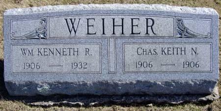 WEIHER, CHARLES KEITH NELSON - Van Buren County, Iowa | CHARLES KEITH NELSON WEIHER