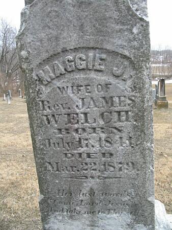 BUCK WELCH, MAGGIE J. - Van Buren County, Iowa | MAGGIE J. BUCK WELCH