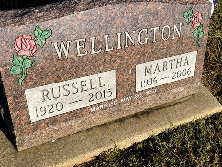 DIETSCH WELLINGTON, MARTHA - Van Buren County, Iowa | MARTHA DIETSCH WELLINGTON