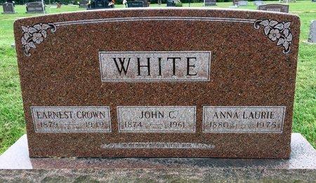 LOWERY WHITE, ANNA LAURIE - Van Buren County, Iowa   ANNA LAURIE LOWERY WHITE