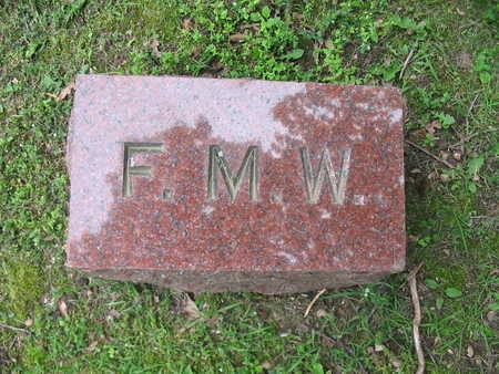 WHITE, FLORILLA M. - Van Buren County, Iowa | FLORILLA M. WHITE