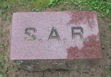 FASSETT WHITE RUSSELL, SARAH A. - Van Buren County, Iowa | SARAH A. FASSETT WHITE RUSSELL