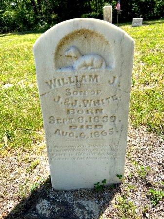 WHITE, WILLIAM J. - Van Buren County, Iowa | WILLIAM J. WHITE