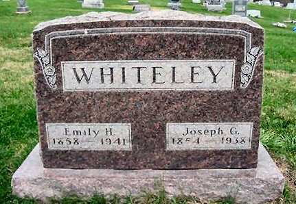 HALL WHITELEY, EMILY H. - Van Buren County, Iowa | EMILY H. HALL WHITELEY