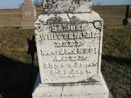 WHITTEN, M.D., SAMUEL - Van Buren County, Iowa | SAMUEL WHITTEN, M.D.