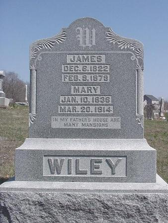 WILEY, MARY - Van Buren County, Iowa | MARY WILEY