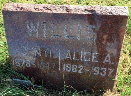 GELATT WILLIS, ALICE A - Van Buren County, Iowa | ALICE A GELATT WILLIS