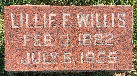GREEN WILLIS, LILLIE E - Van Buren County, Iowa | LILLIE E GREEN WILLIS
