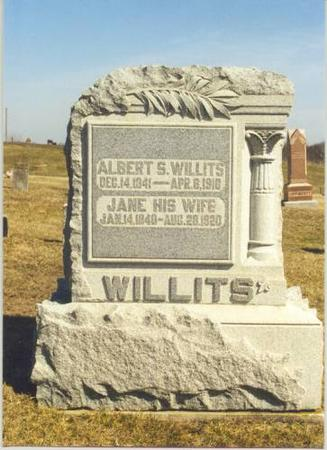 WILLITS, ALBERT S. - Van Buren County, Iowa | ALBERT S. WILLITS