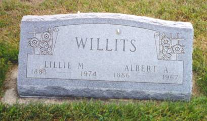 WILLITS, ALBERT A. - Van Buren County, Iowa | ALBERT A. WILLITS