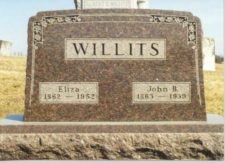 WILLITS, JOHN B. - Van Buren County, Iowa | JOHN B. WILLITS