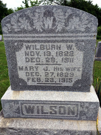 WILSON, MARY J. - Van Buren County, Iowa | MARY J. WILSON