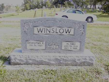WINSLOW, NED - Van Buren County, Iowa   NED WINSLOW