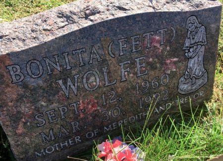 FETT WOLFE, BONITA - Van Buren County, Iowa   BONITA FETT WOLFE