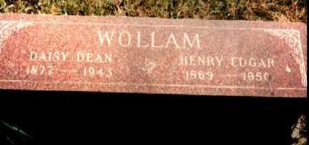 WOLLAM, HENRY EDGAR - Van Buren County, Iowa | HENRY EDGAR WOLLAM