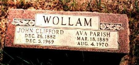 WOLLAM, JOHN - Van Buren County, Iowa   JOHN WOLLAM