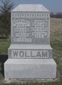 WOLLAM, MARGARET - Van Buren County, Iowa | MARGARET WOLLAM