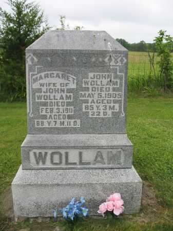 BLACKLEDGE WOLLAM, MARGARET - Van Buren County, Iowa | MARGARET BLACKLEDGE WOLLAM