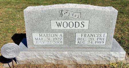 SHRIVER WOODS, MARION A - Van Buren County, Iowa   MARION A SHRIVER WOODS