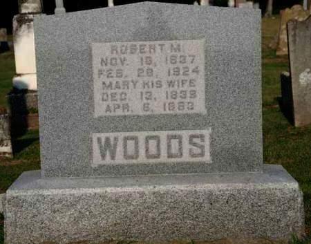 WOODS, ROBERT M. - Van Buren County, Iowa | ROBERT M. WOODS