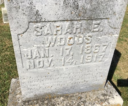 MATHIAS WOODS, SARAH E - Van Buren County, Iowa | SARAH E MATHIAS WOODS