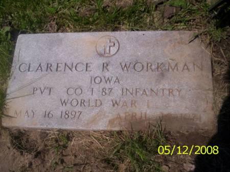 WORKMAN, CLARENCE R. - Van Buren County, Iowa | CLARENCE R. WORKMAN