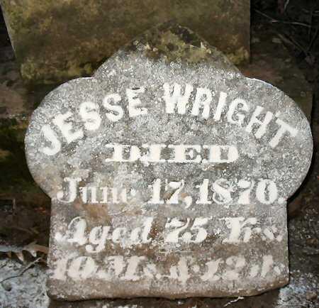 WRIGHT, JESSE - Van Buren County, Iowa | JESSE WRIGHT