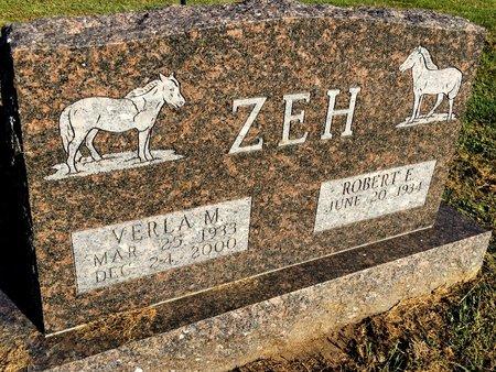 GRAY ZEH, VERLA M - Van Buren County, Iowa | VERLA M GRAY ZEH