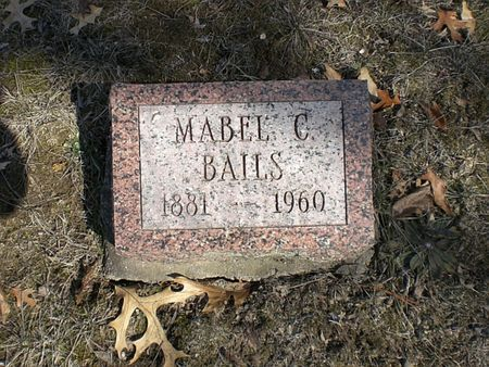 BAILS, MABEL C. - Wapello County, Iowa | MABEL C. BAILS