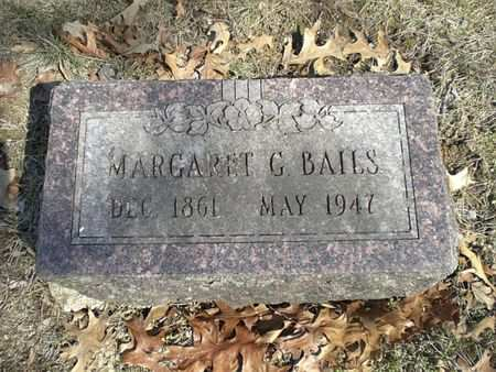 BAILS, MARGARET G. - Wapello County, Iowa | MARGARET G. BAILS
