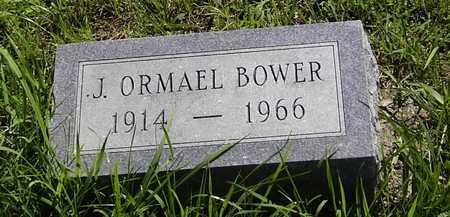 BOWER, JONATHAN ORMAEL - Wapello County, Iowa | JONATHAN ORMAEL BOWER