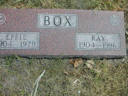 BOX, RAY - Wapello County, Iowa | RAY BOX