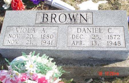 PYLE BROWN, VIOLA A. - Wapello County, Iowa | VIOLA A. PYLE BROWN
