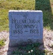 DORAN BROWNING, HELENA - Wapello County, Iowa | HELENA DORAN BROWNING