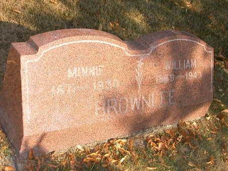 BROWNLEE, WILLIAM - Wapello County, Iowa | WILLIAM BROWNLEE