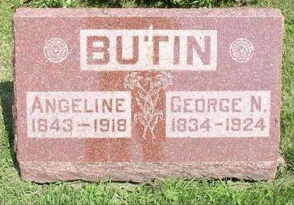 BUTIN, ANGELINE - Wapello County, Iowa | ANGELINE BUTIN