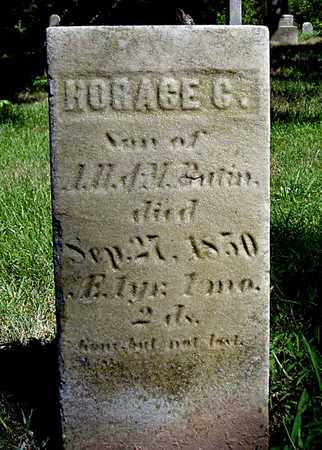 BUTIN, HORACE CROOKS - Wapello County, Iowa | HORACE CROOKS BUTIN