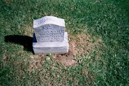 WILKINSON, CHRISTINA M. - Wapello County, Iowa | CHRISTINA M. WILKINSON