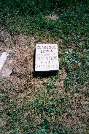 HART, CLARENCE EDWIN - Wapello County, Iowa | CLARENCE EDWIN HART