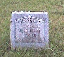 CARTER, JOHN H - Wapello County, Iowa | JOHN H CARTER