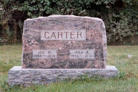 CARTER, ORA & IDA FUQUA - Wapello County, Iowa | ORA & IDA FUQUA CARTER