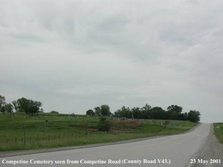 COMPENTINE, CEMETERY - Wapello County, Iowa | CEMETERY COMPENTINE