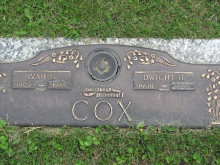 COX, DWIGHT  H. - Wapello County, Iowa | DWIGHT  H. COX