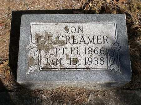 CREAMER, C. E. - Wapello County, Iowa | C. E. CREAMER