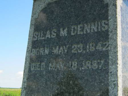 DENNIS, SILAS M - Wapello County, Iowa | SILAS M DENNIS