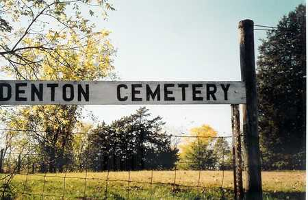 DENTON, CEMETERY - Wapello County, Iowa | CEMETERY DENTON