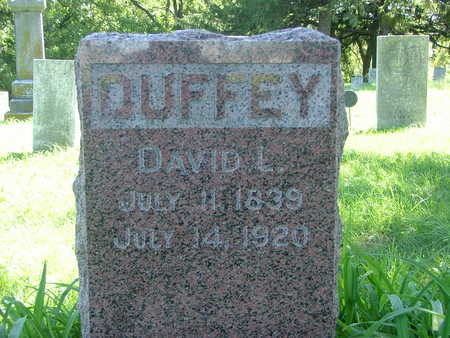DUFFEE, DAVID L. - Wapello County, Iowa | DAVID L. DUFFEE