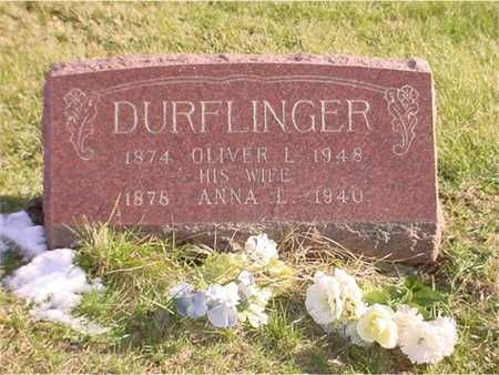 DURFLINGER, OLIVER - Wapello County, Iowa | OLIVER DURFLINGER