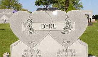 DYKE, EMMALINE - Wapello County, Iowa | EMMALINE DYKE